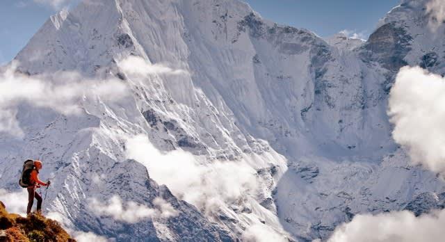 Hiking tours at Pokhara in Nepal, Asia