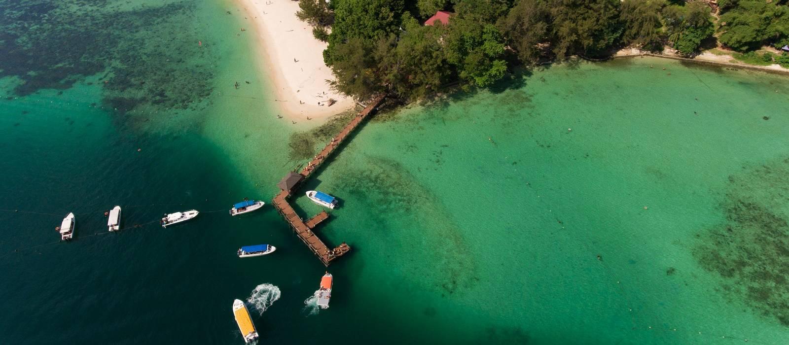 Wildnis und Strände Malaysias Urlaub 1
