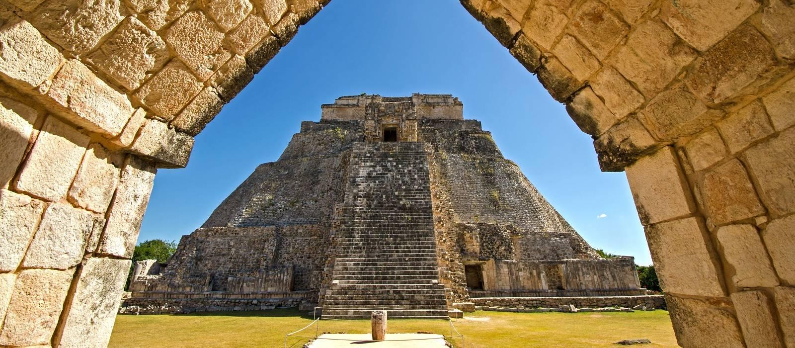 Mexiko -Yucatán, Ruinen und Strand Urlaub 1