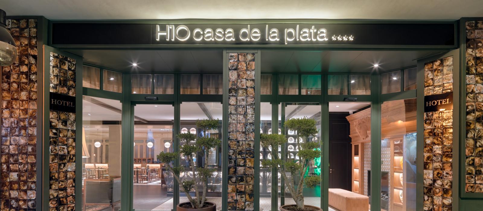 Hotel  H10 Casa de la Plata Spanien