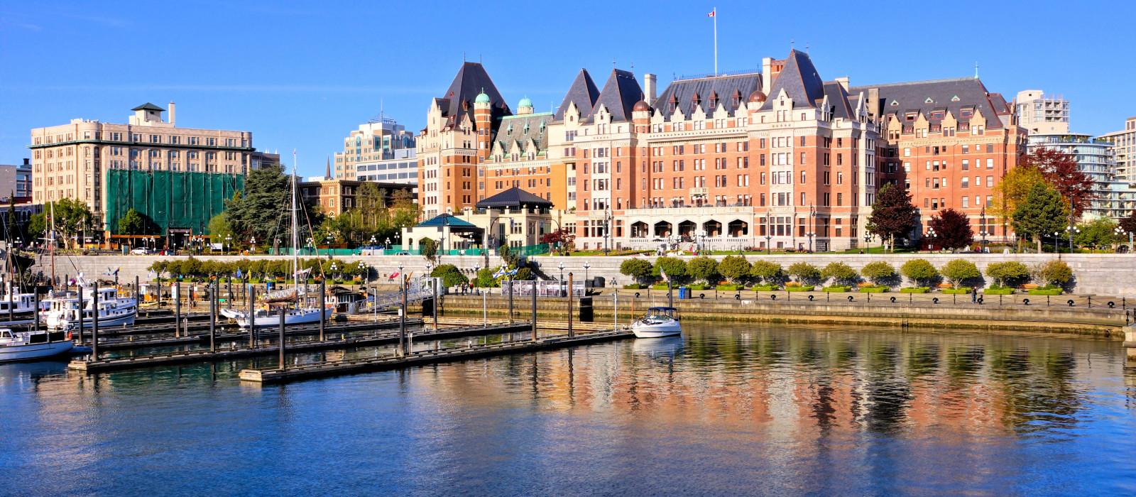 Reiseziel Victoria Kanada