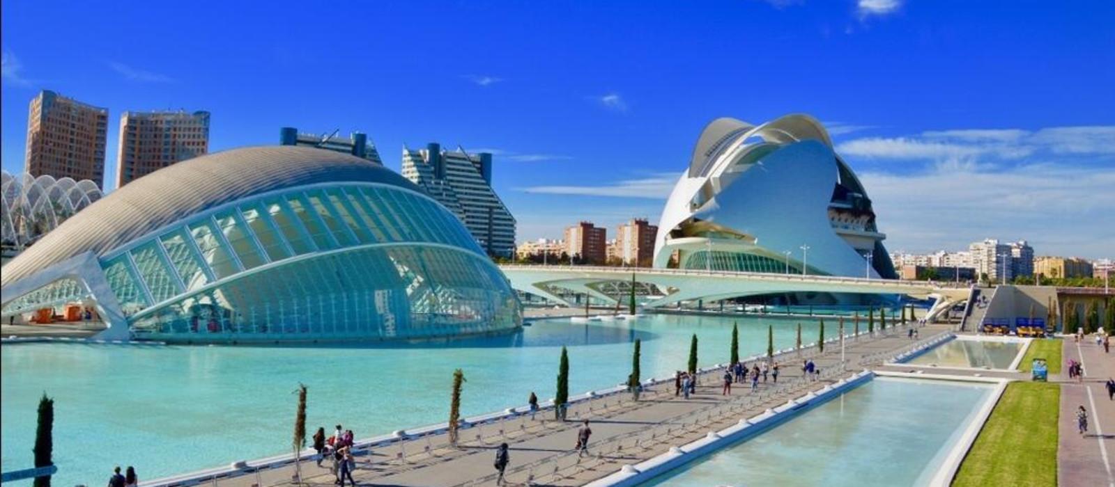 Reiseziel Valencia Spanien