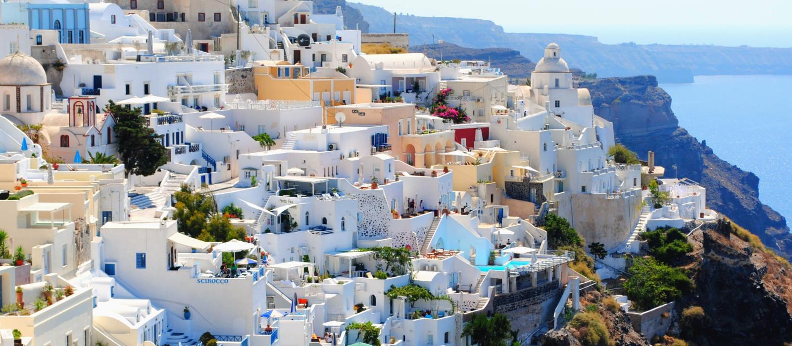 Reiseziel Santorin Griechenland