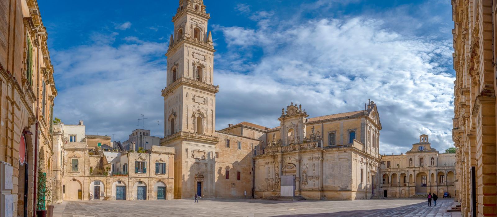 Reiseziel Lecce Italien