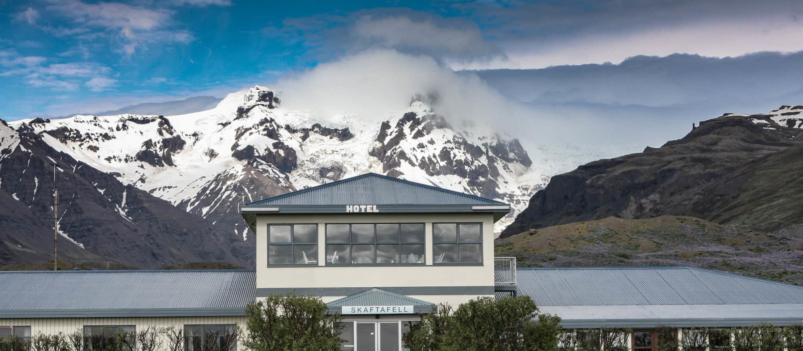 Hotel  Skaftafell (Hof) Island