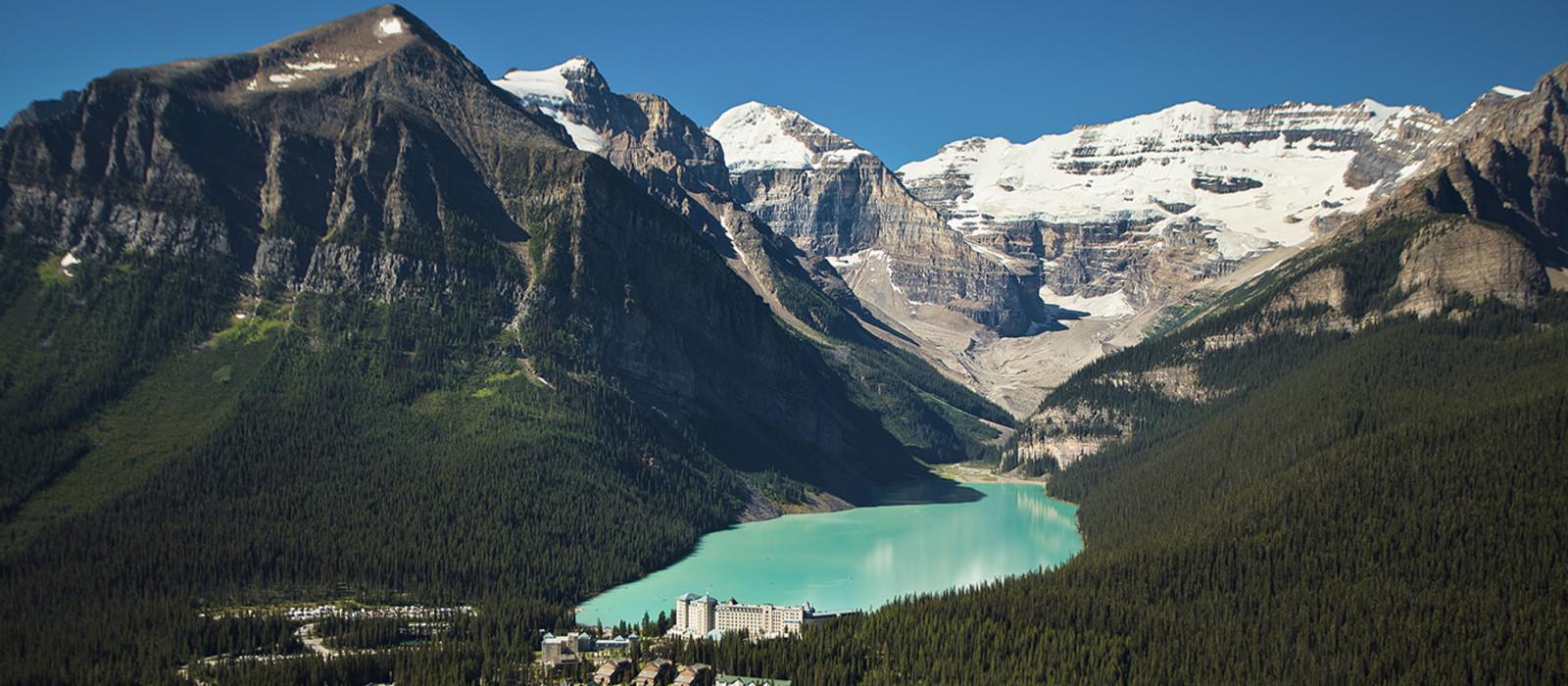 Hotel Fairmont Chateau Lake Louise Kanada