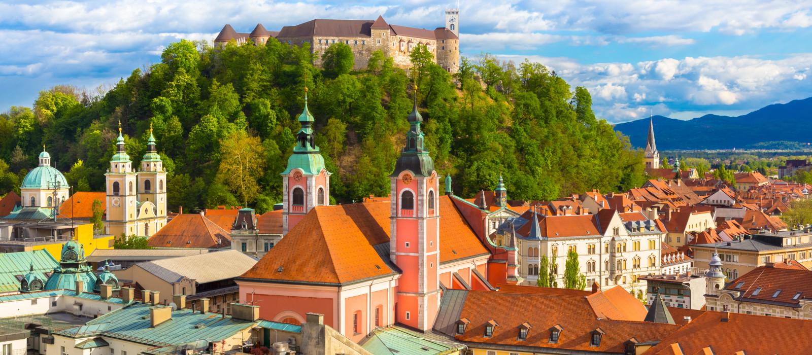 Reiseziel Ljubljana Kroatien & Slowenien
