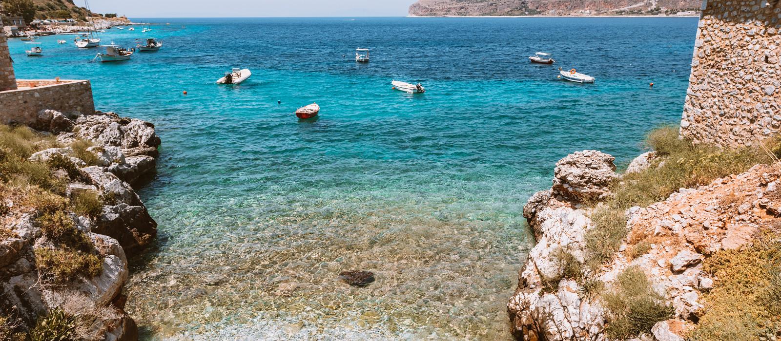 Reiseziel Limeni Griechenland