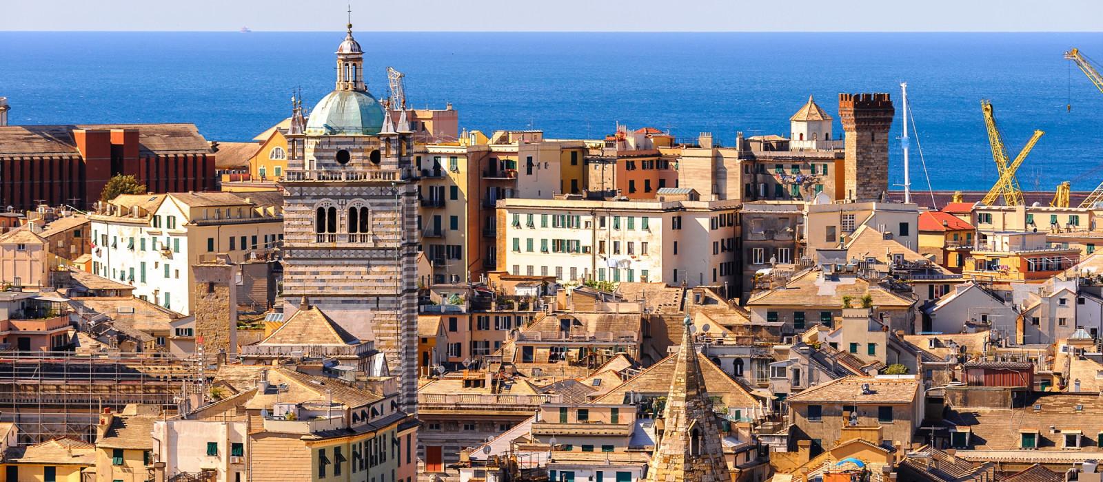 Destination Genoa Italy