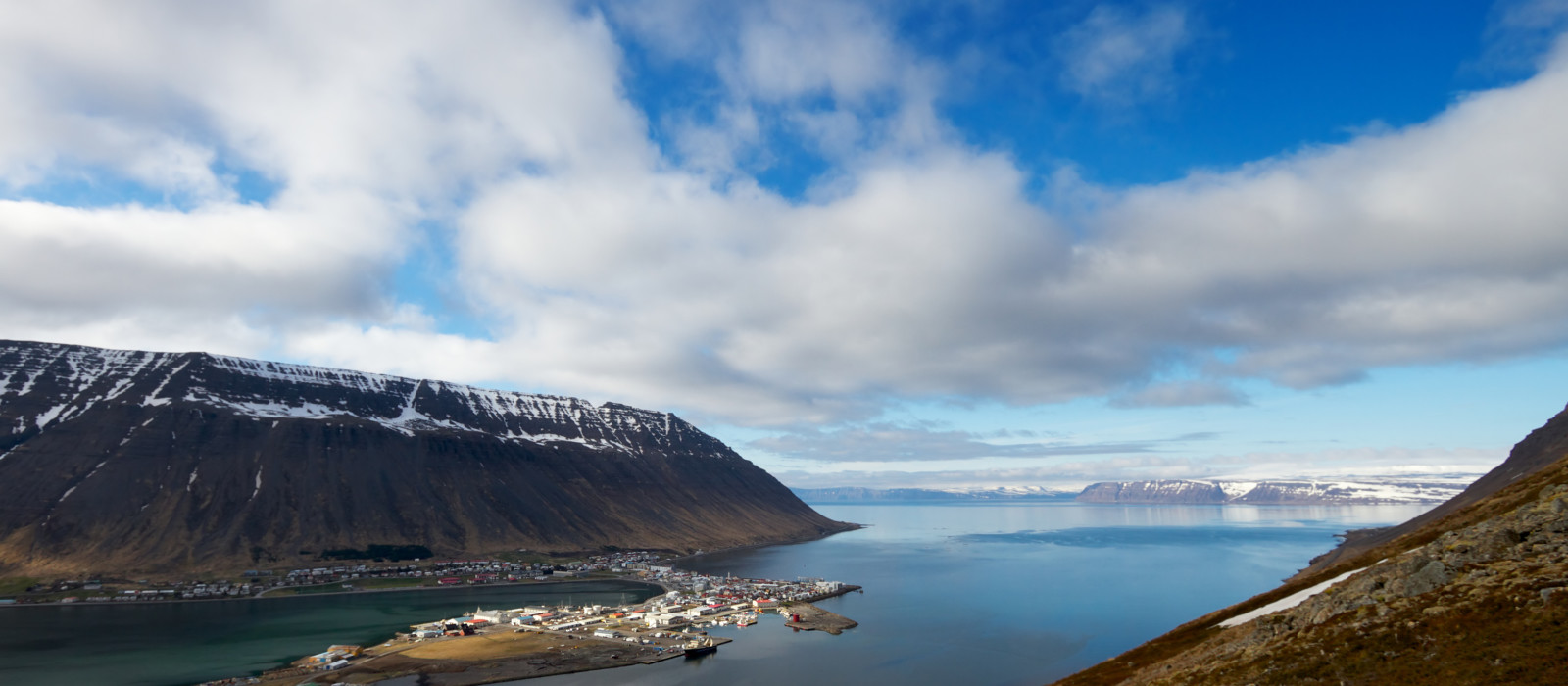 Reiseziel Isafjordur Island