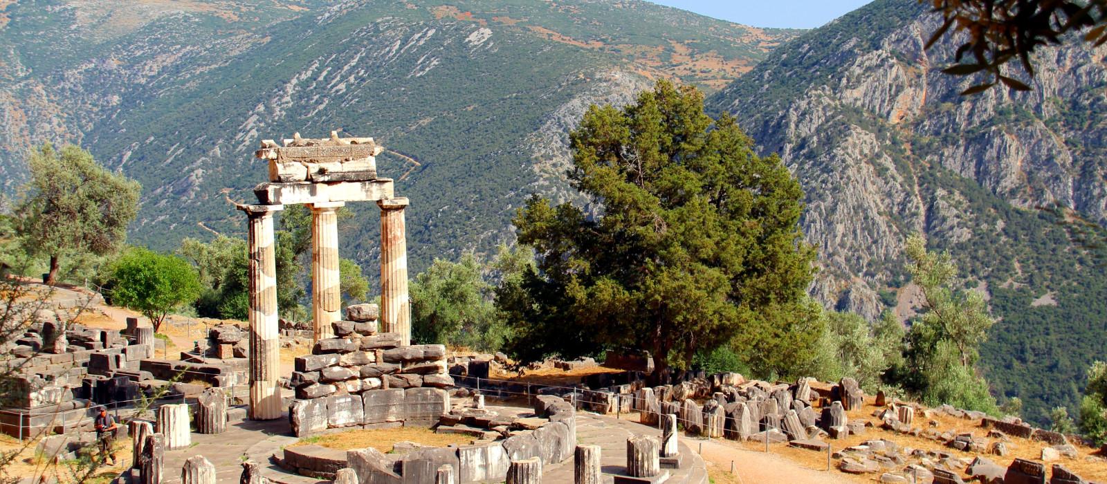 Destination Delphi Greece