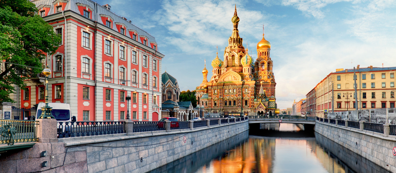 Reiseziel Sankt Petersburg Russland