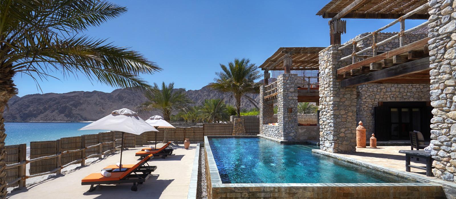 Hotel Six Senses Zighy Bay Oman