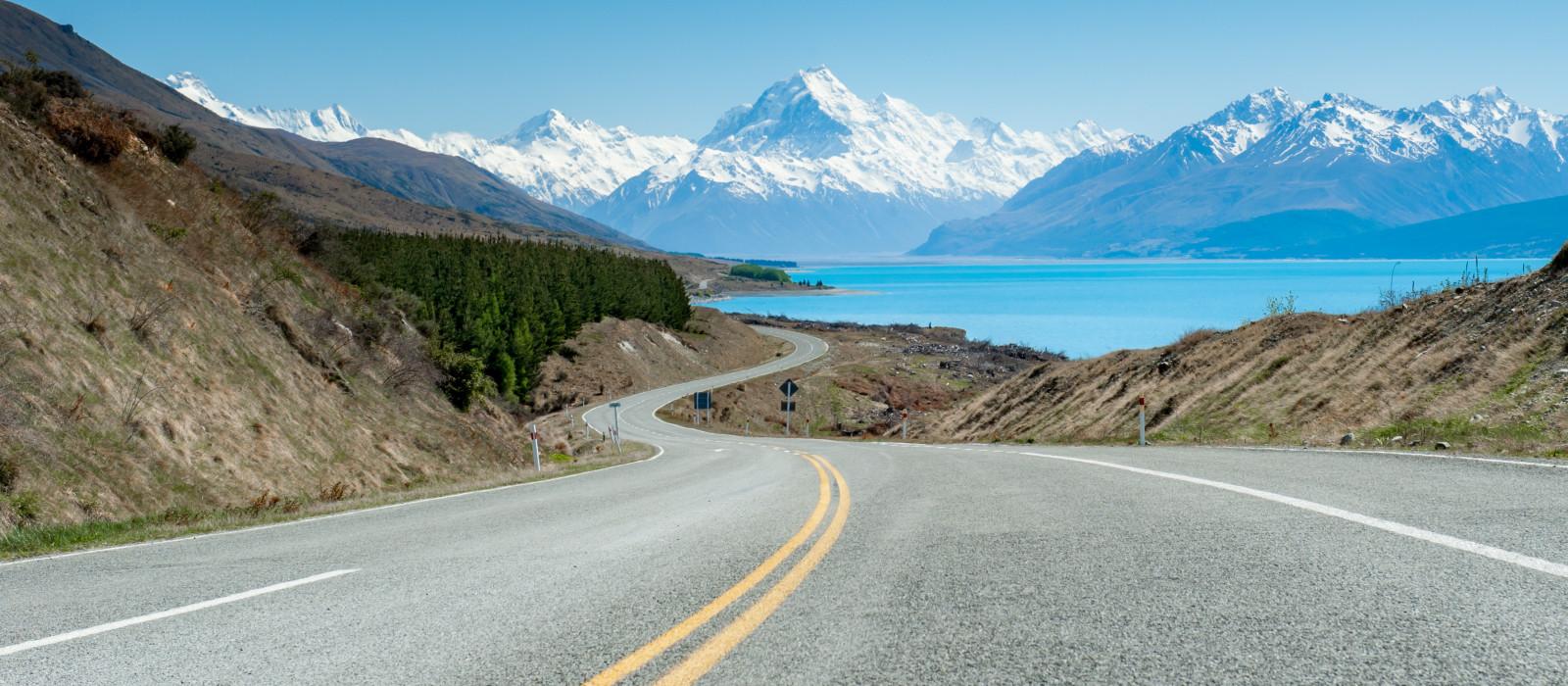 Reiseziel Mount Cook Neuseeland