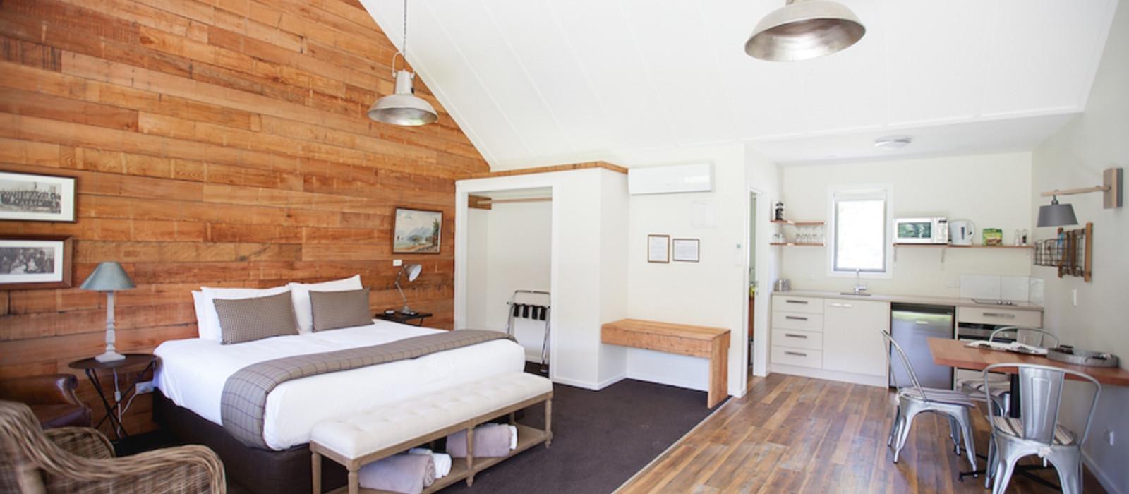 Hotel Kinross Cottages Neuseeland