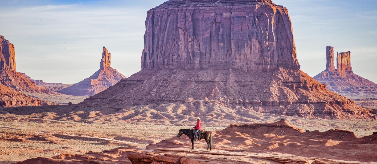 Destination Monument Valley Navajo Tribal Park USA