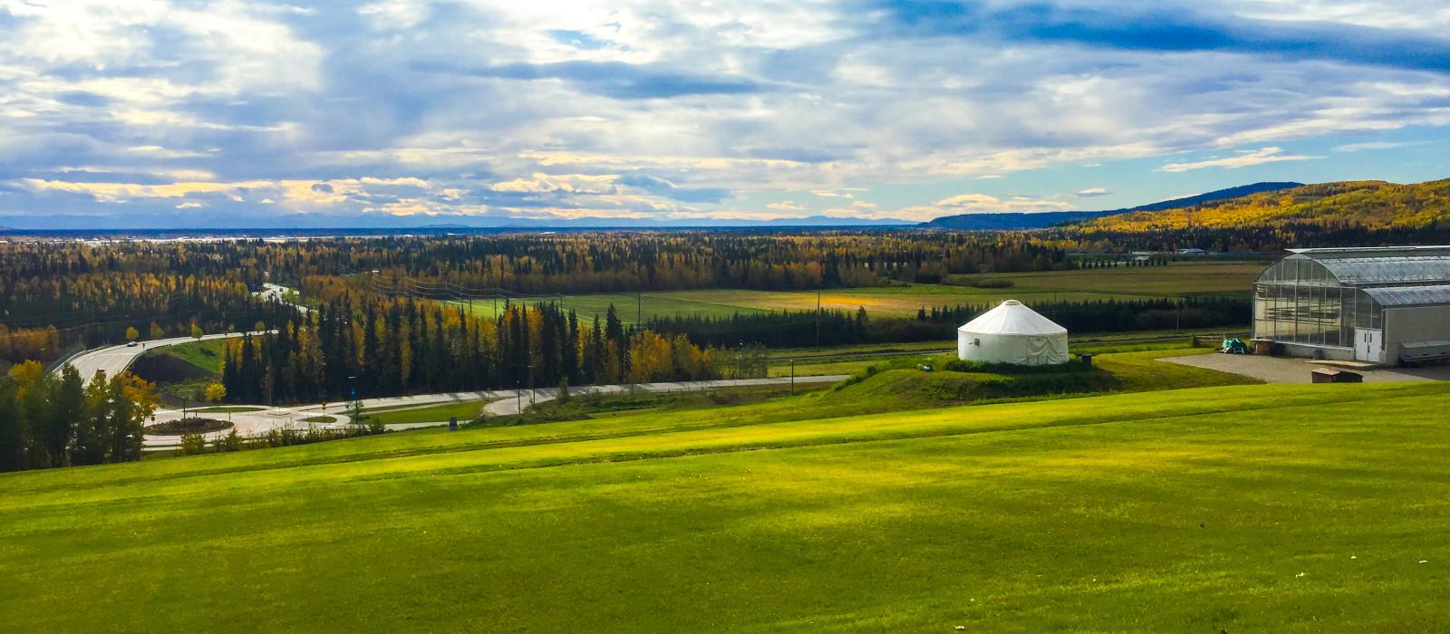 Reiseziel Fairbanks Alaska