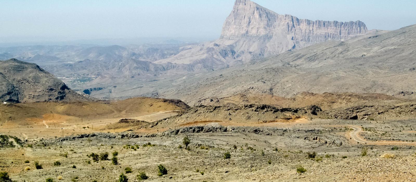 Reiseziel Jebel Shams & Al Hamra Oman