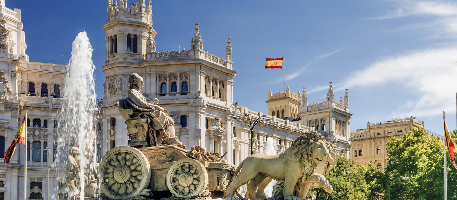 Reiseziel Madrid Spanien