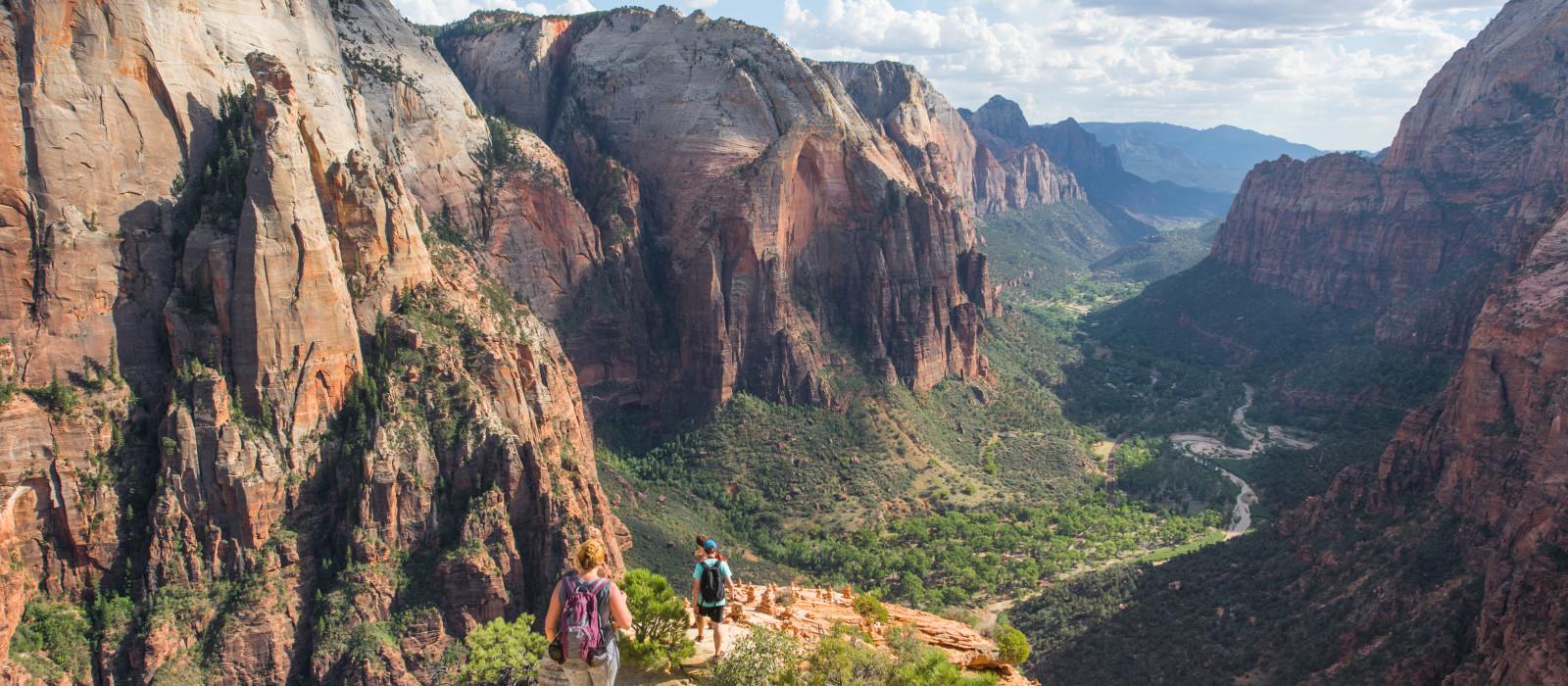 Reiseziel Zion Nationalpark USA