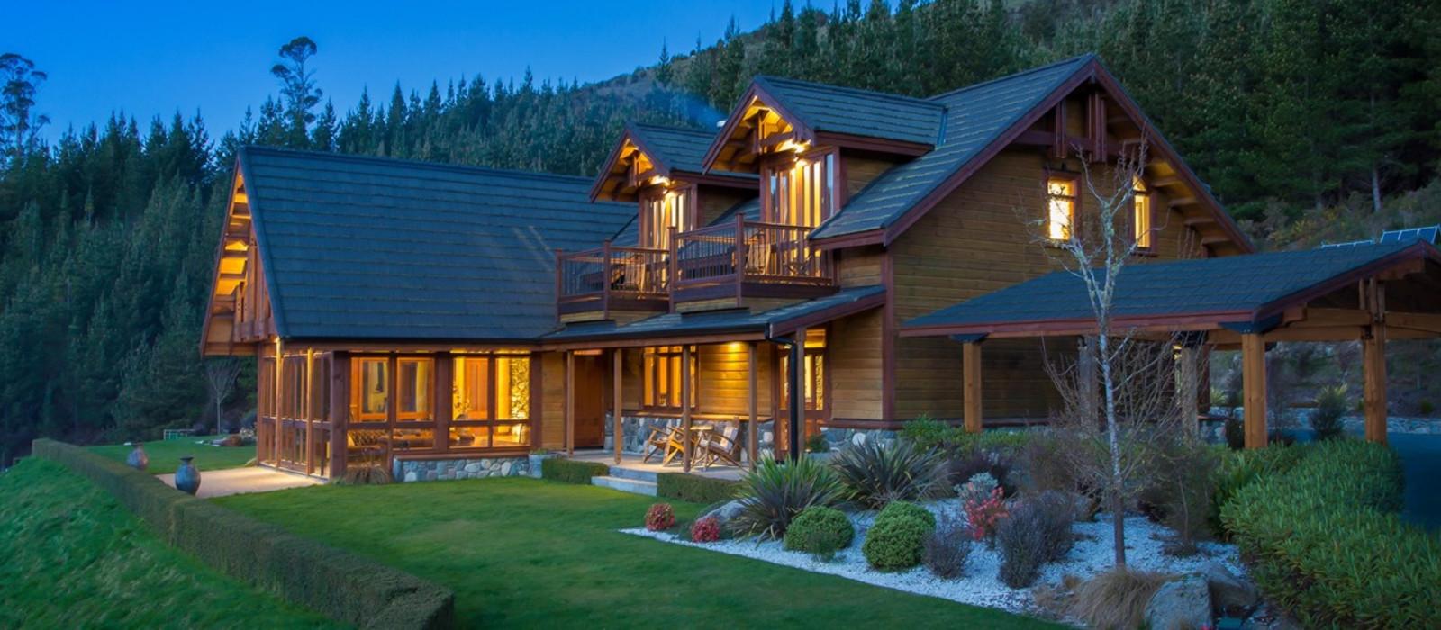 Hotel StoneFly Lodge Neuseeland