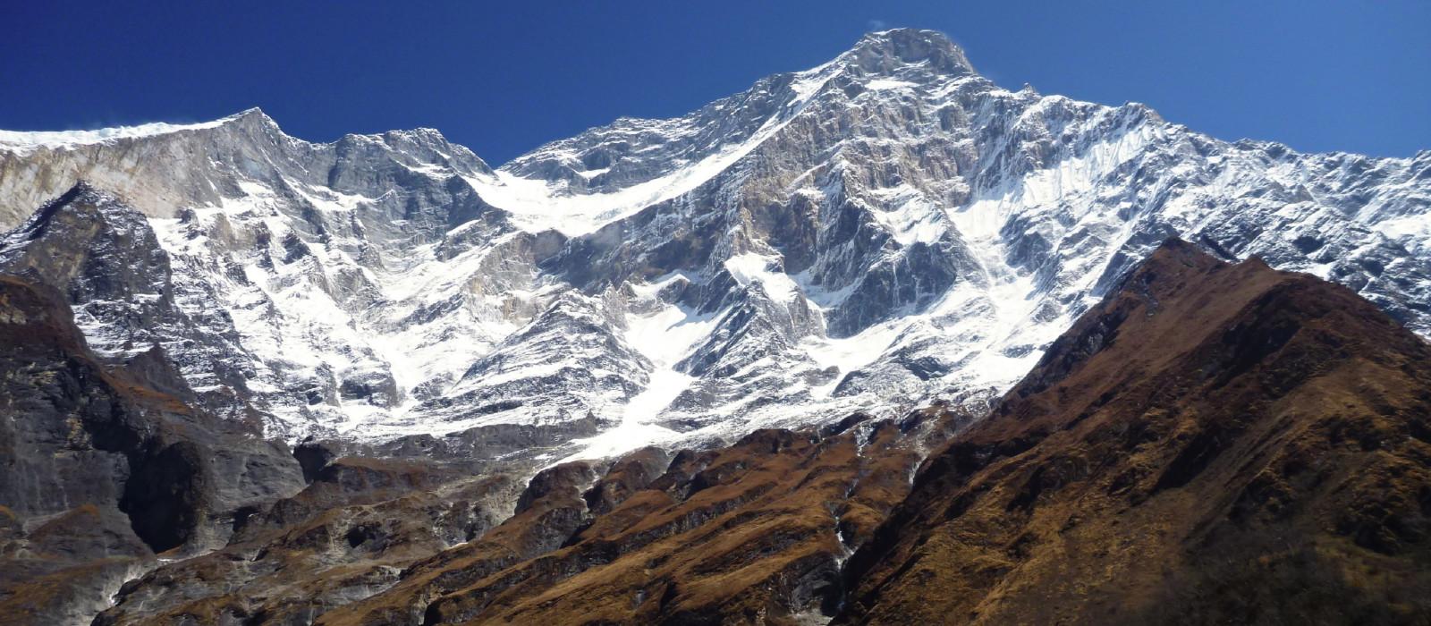 Destination Annapurna region Nepal