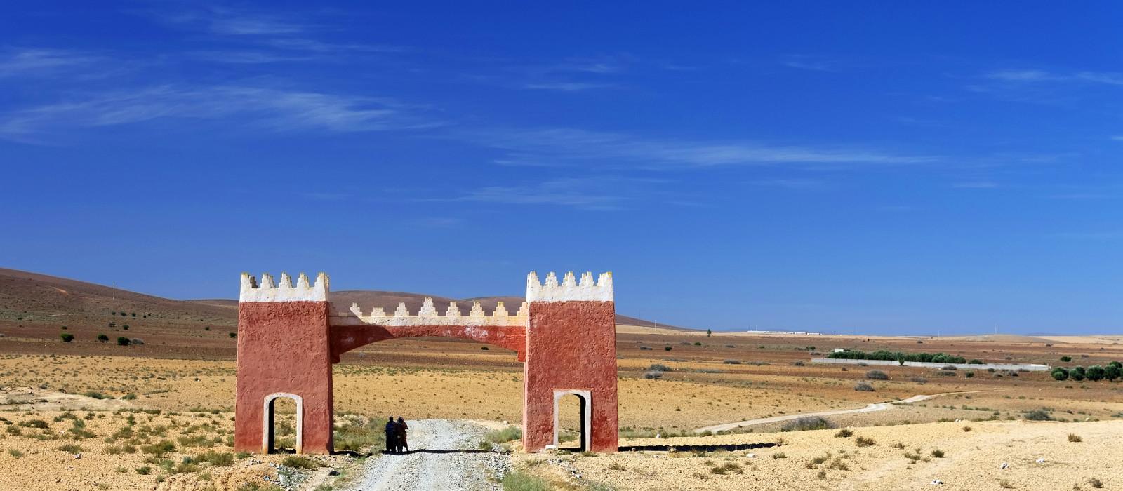 Reiseziel Tafraoute Marokko