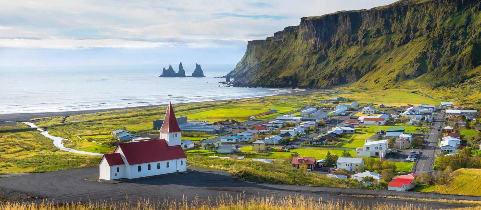 Reiseziel Vik I Myrdal Island