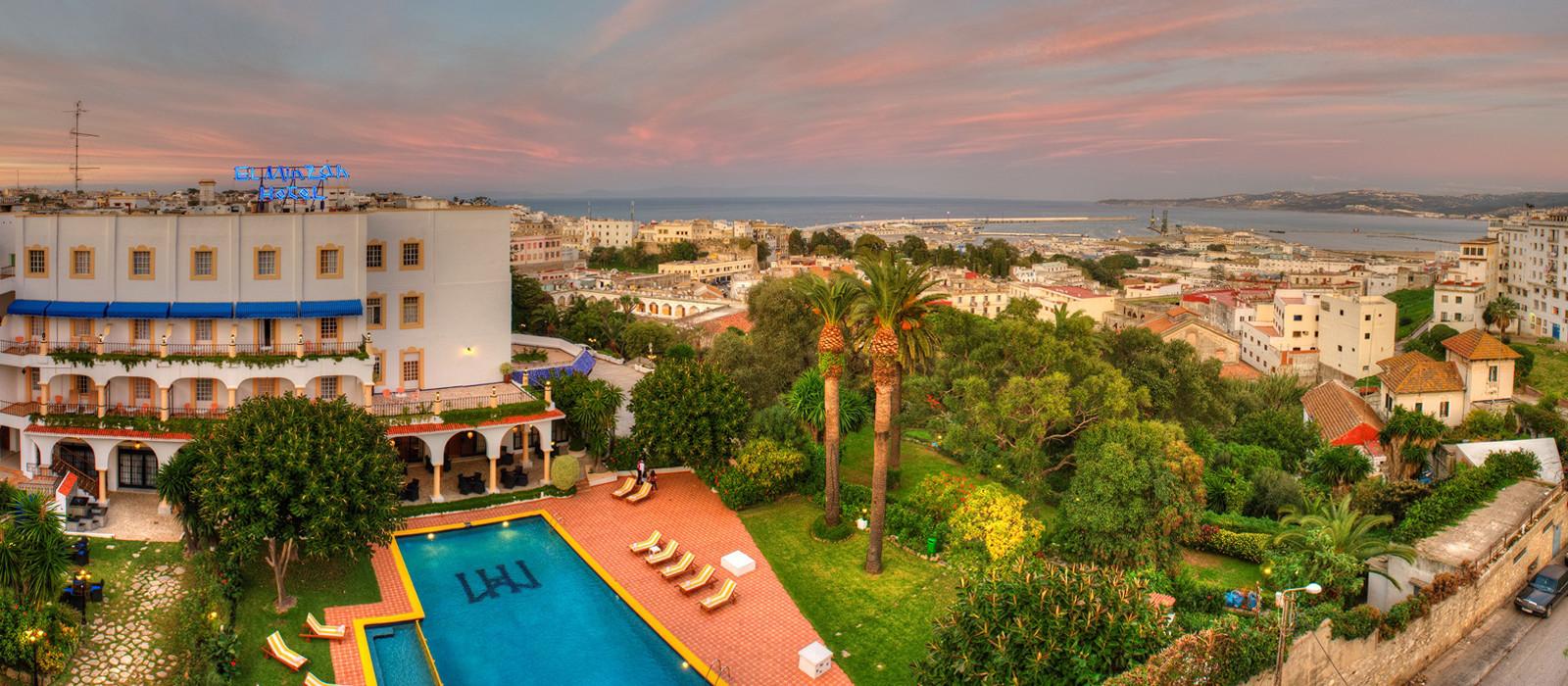 Hotel El Minzah  Tangier Marokko