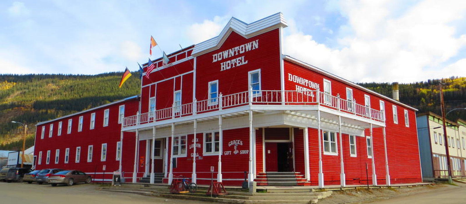 Hotel Canadas Best Value Inn Downtown  Dawson City Kanada
