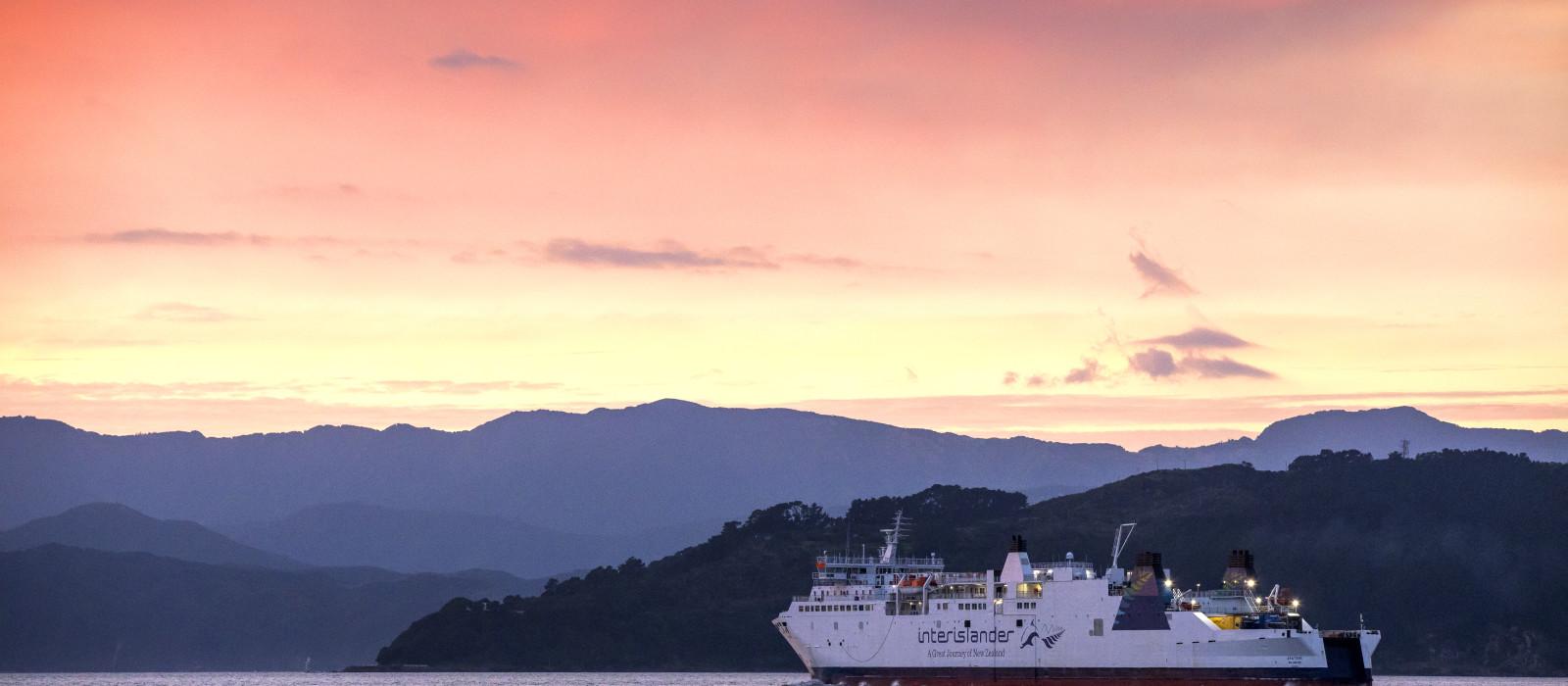 Reiseziel Picton Neuseeland