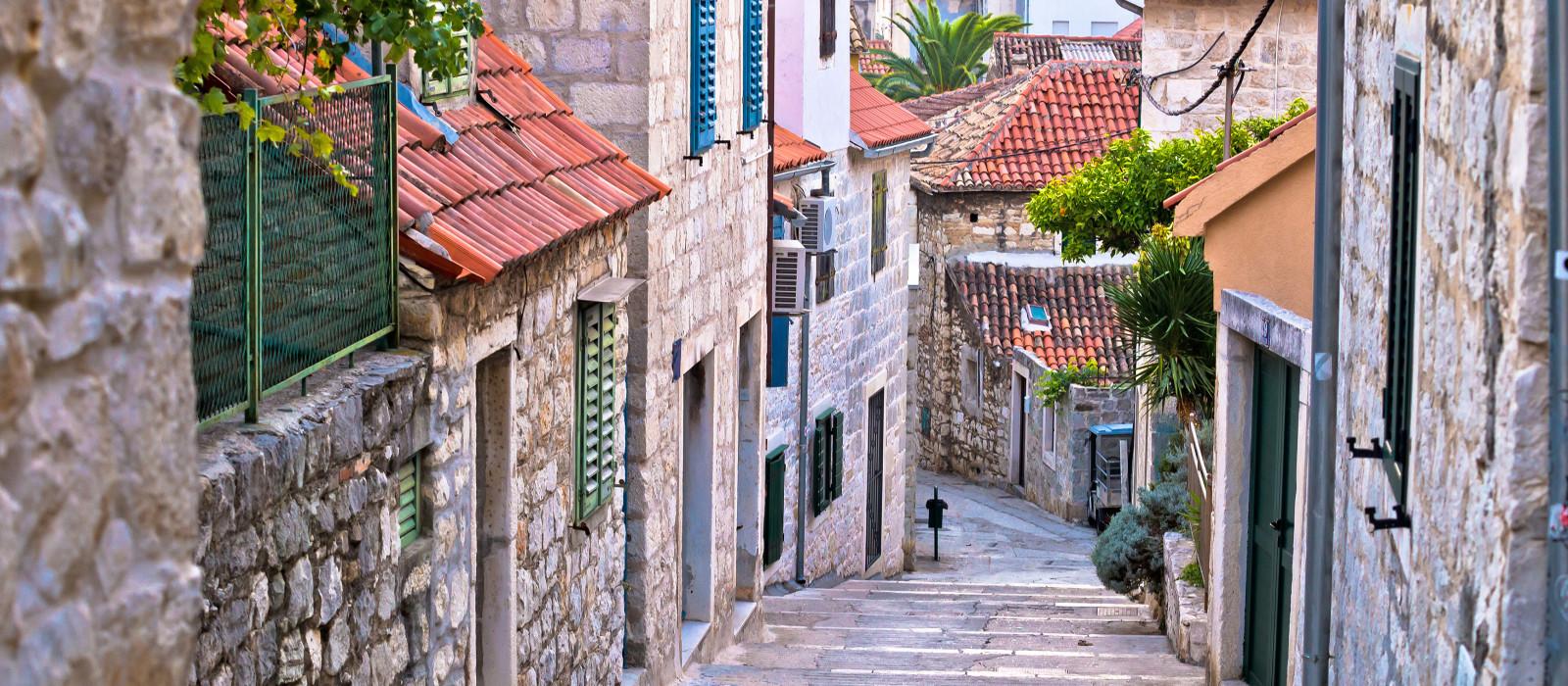 Reiseziel Split Kroatien & Slowenien