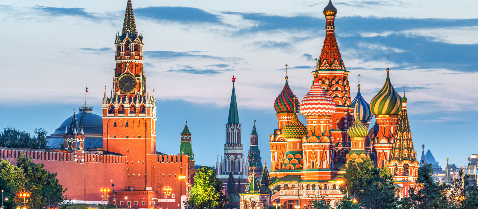 Destination Moscow Russia
