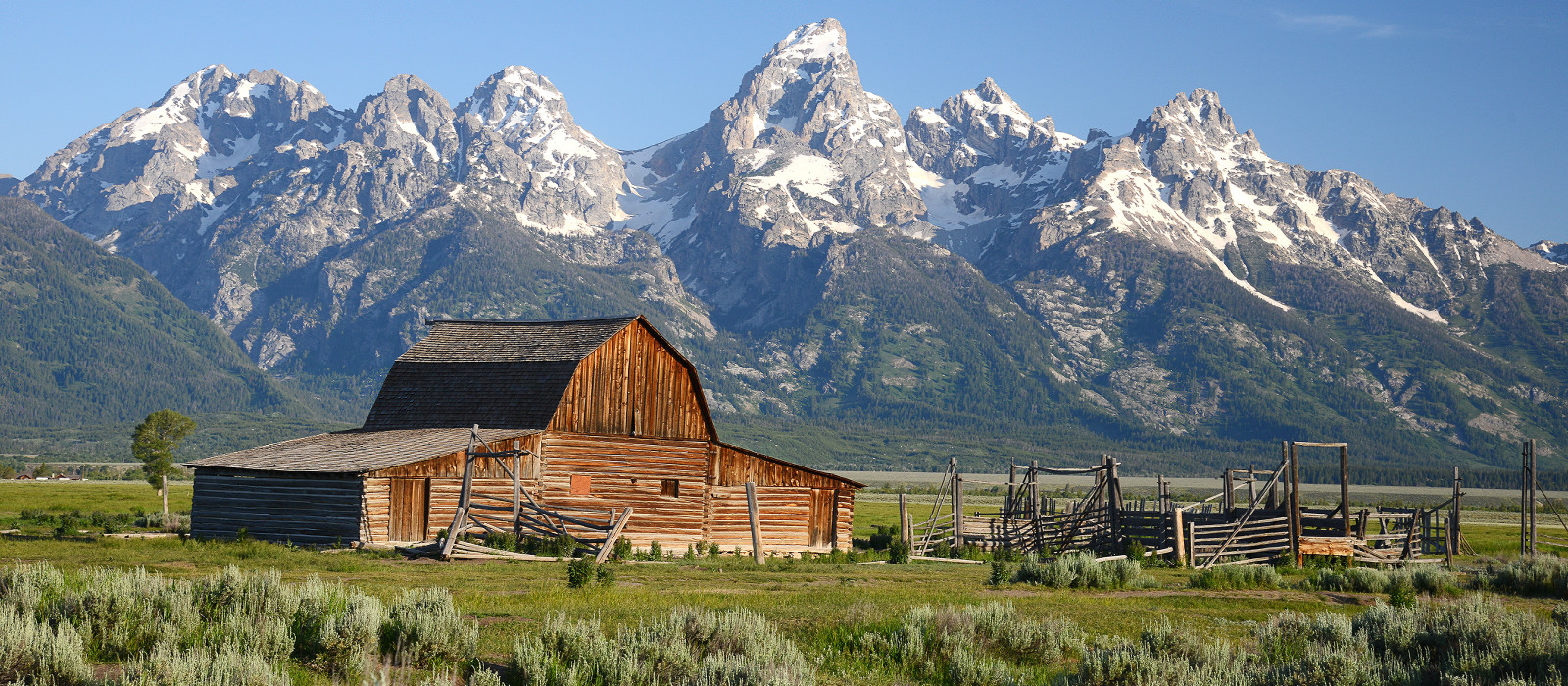 Reiseziel Grand Teton Nationalpark USA