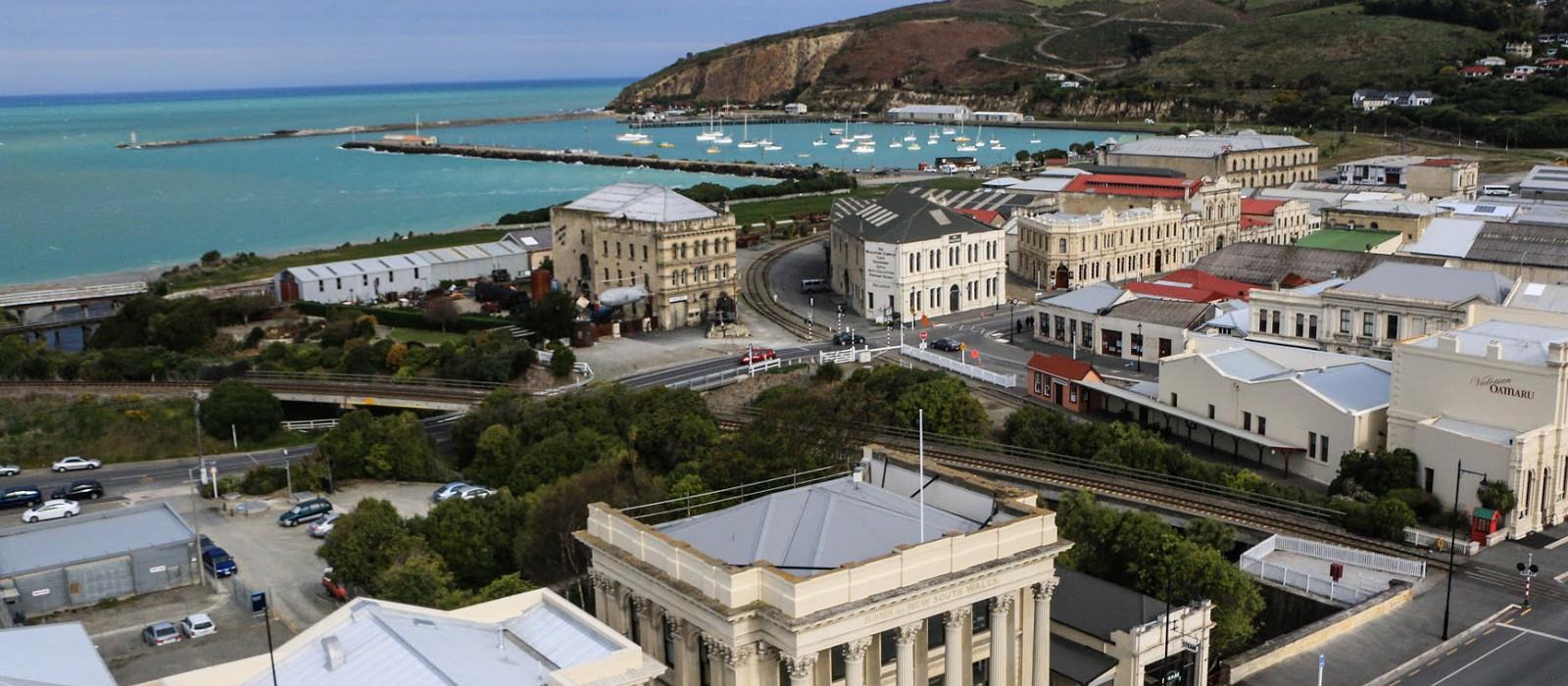 Reiseziel Oamaru Neuseeland