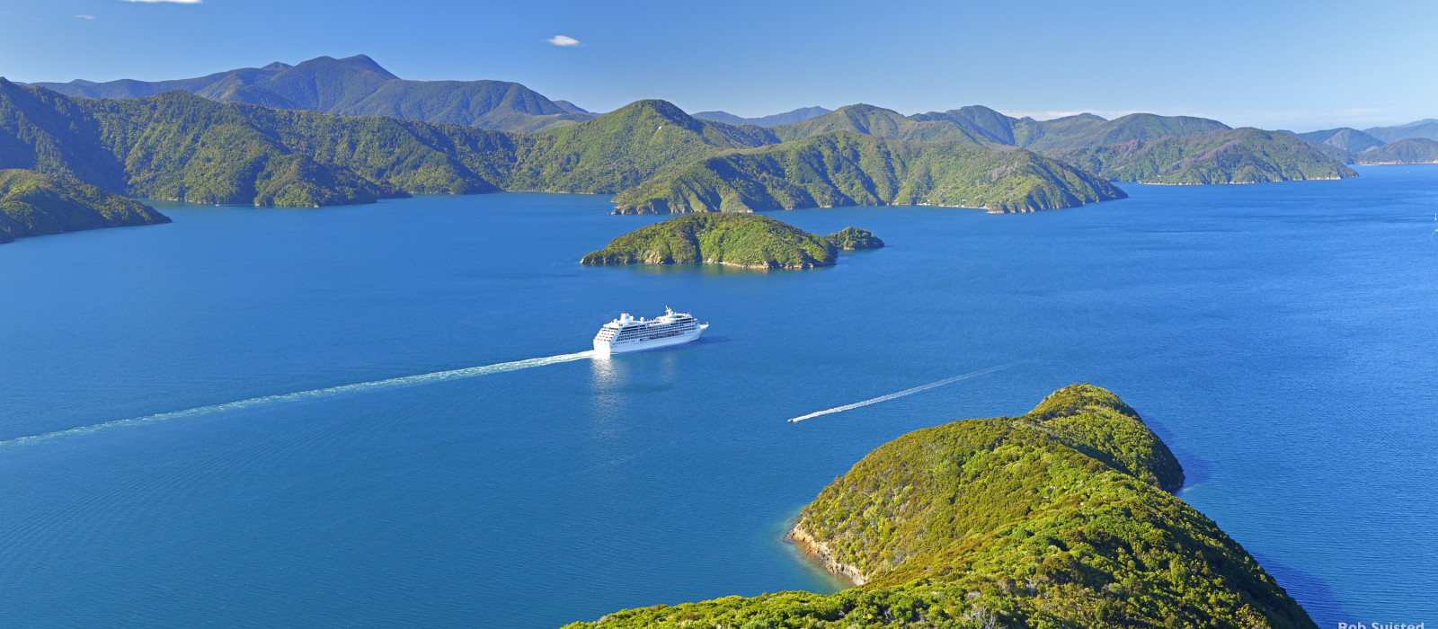 Reiseziel Marlborough Sounds Neuseeland