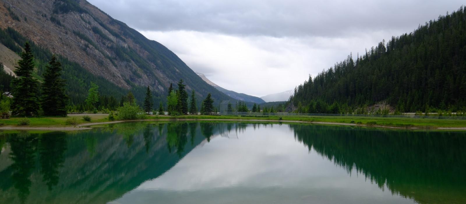 Reiseziel Field Kanada