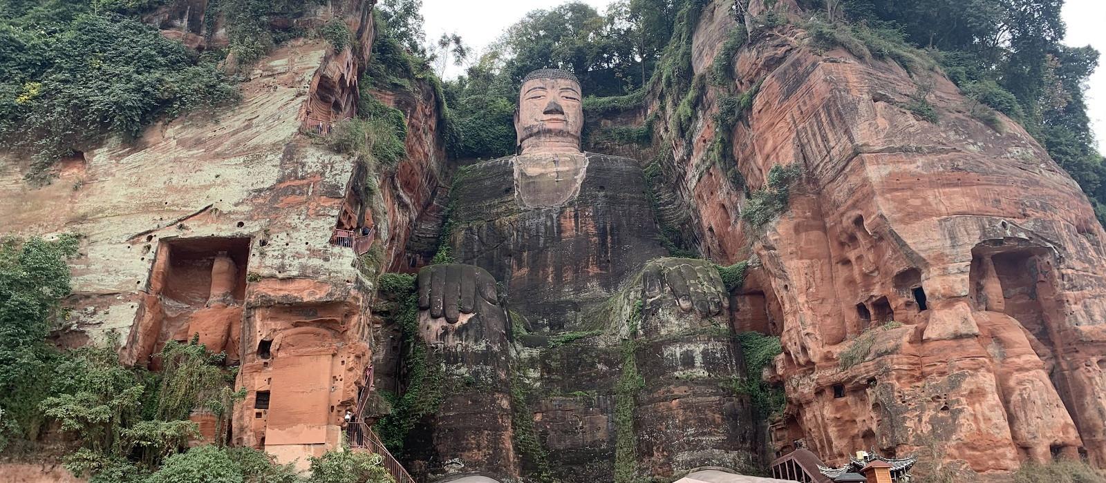 Reiseziel Leshan China