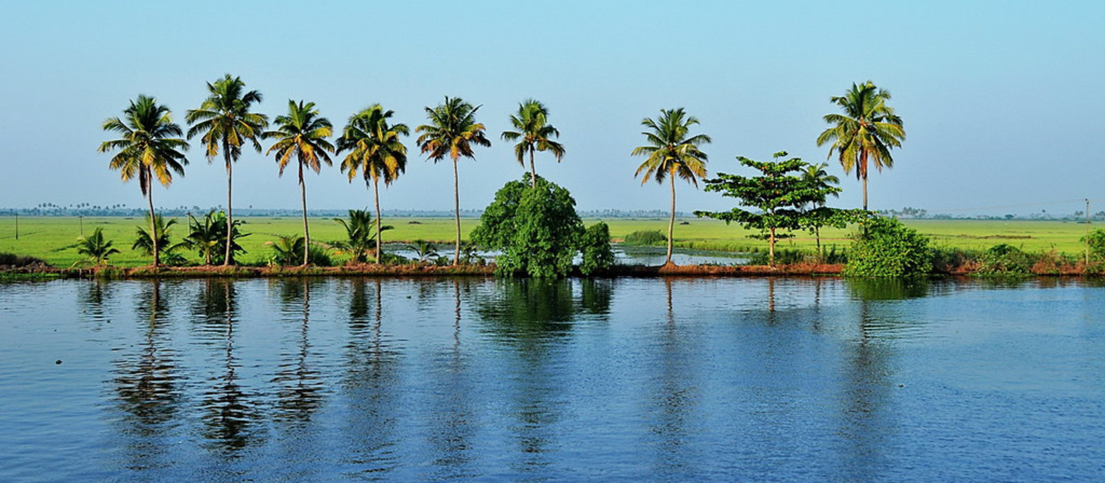 Destination Backwaters of Kerala South India