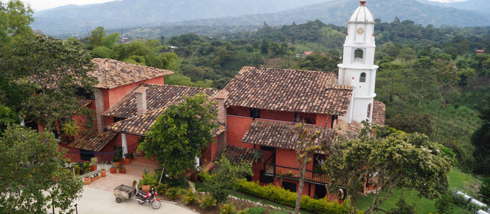 Hotel Monasterio San Agustin Kolumbien