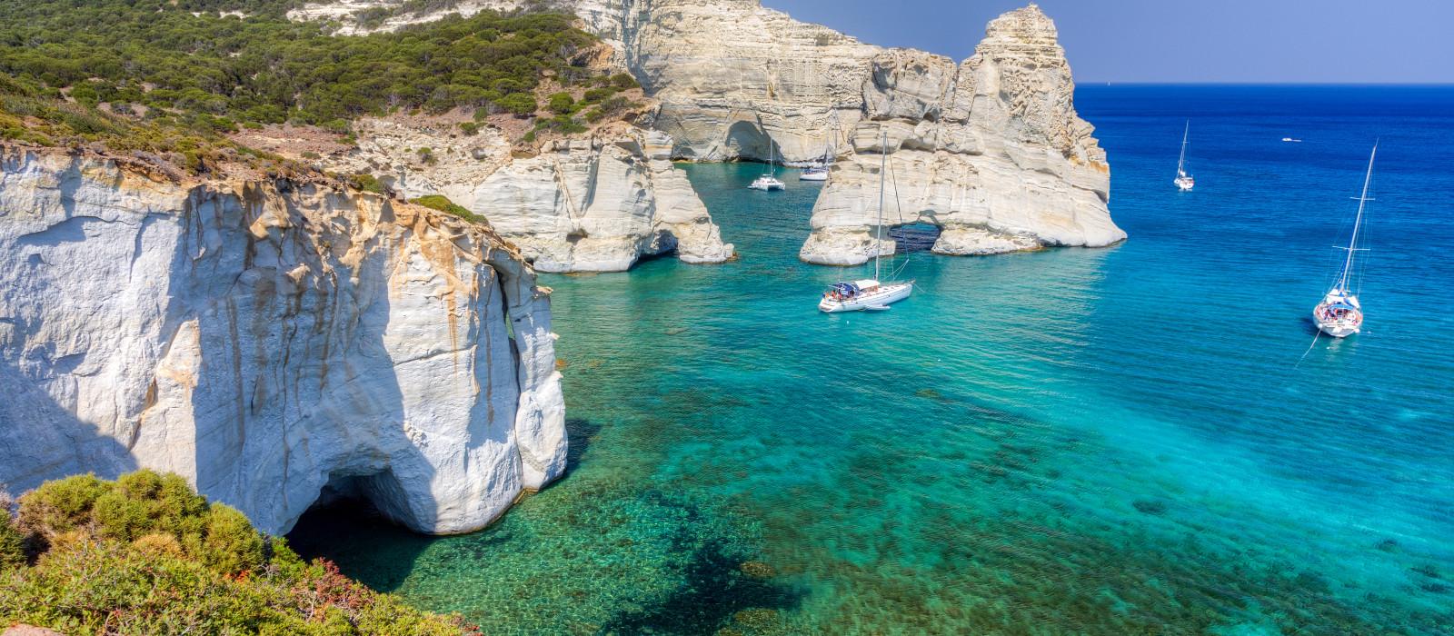 Reiseziel Milos Griechenland