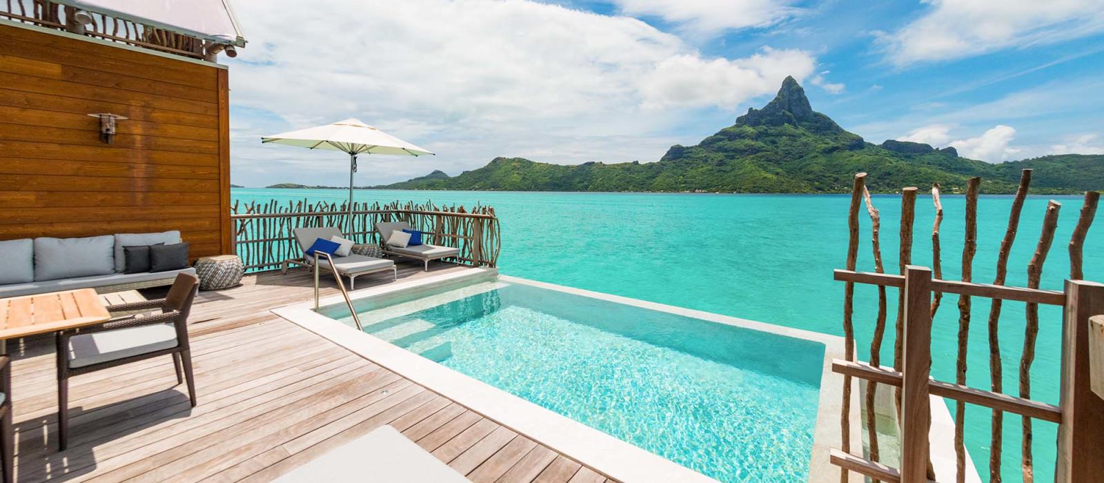 Hotel InterContinental Bora Bora Resort Thalasso Französisch Polynesien
