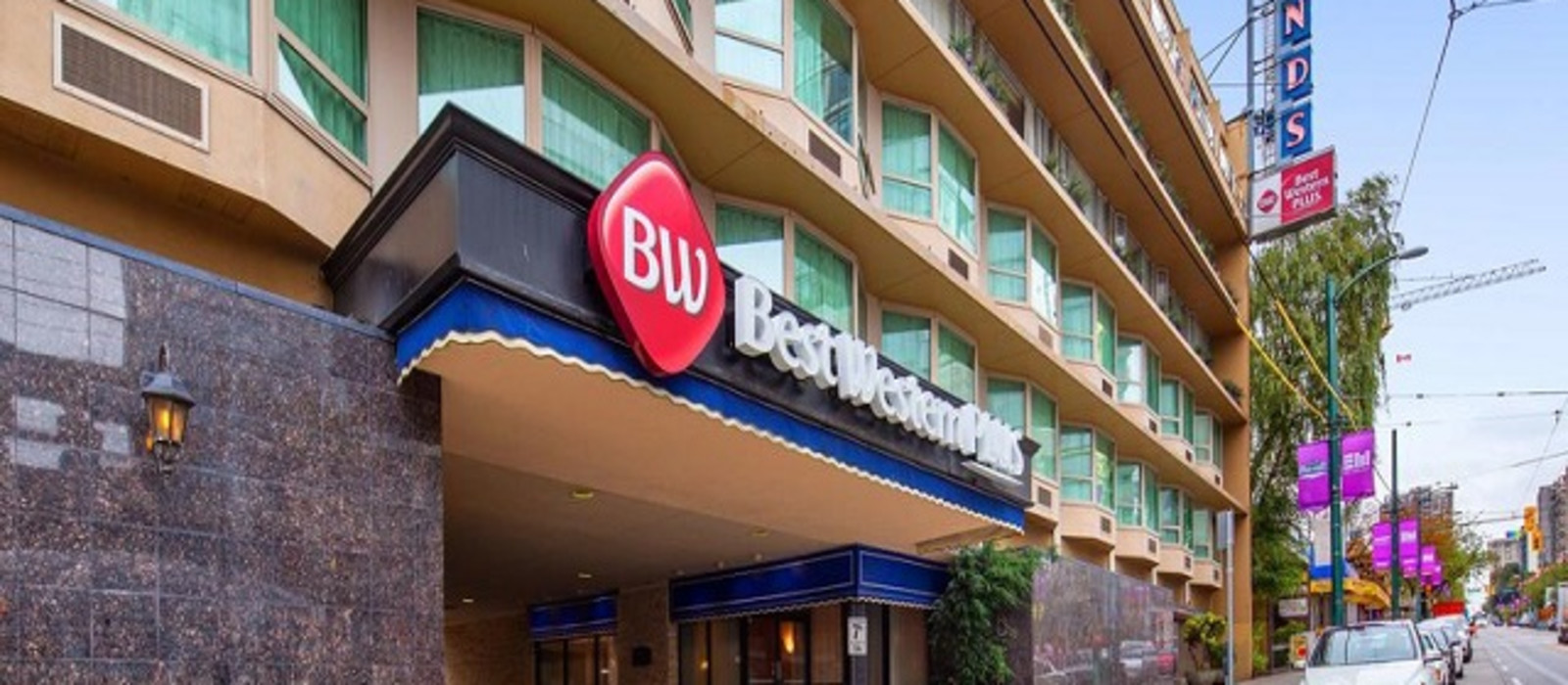 Hotel Best Western Plus Sands Canada