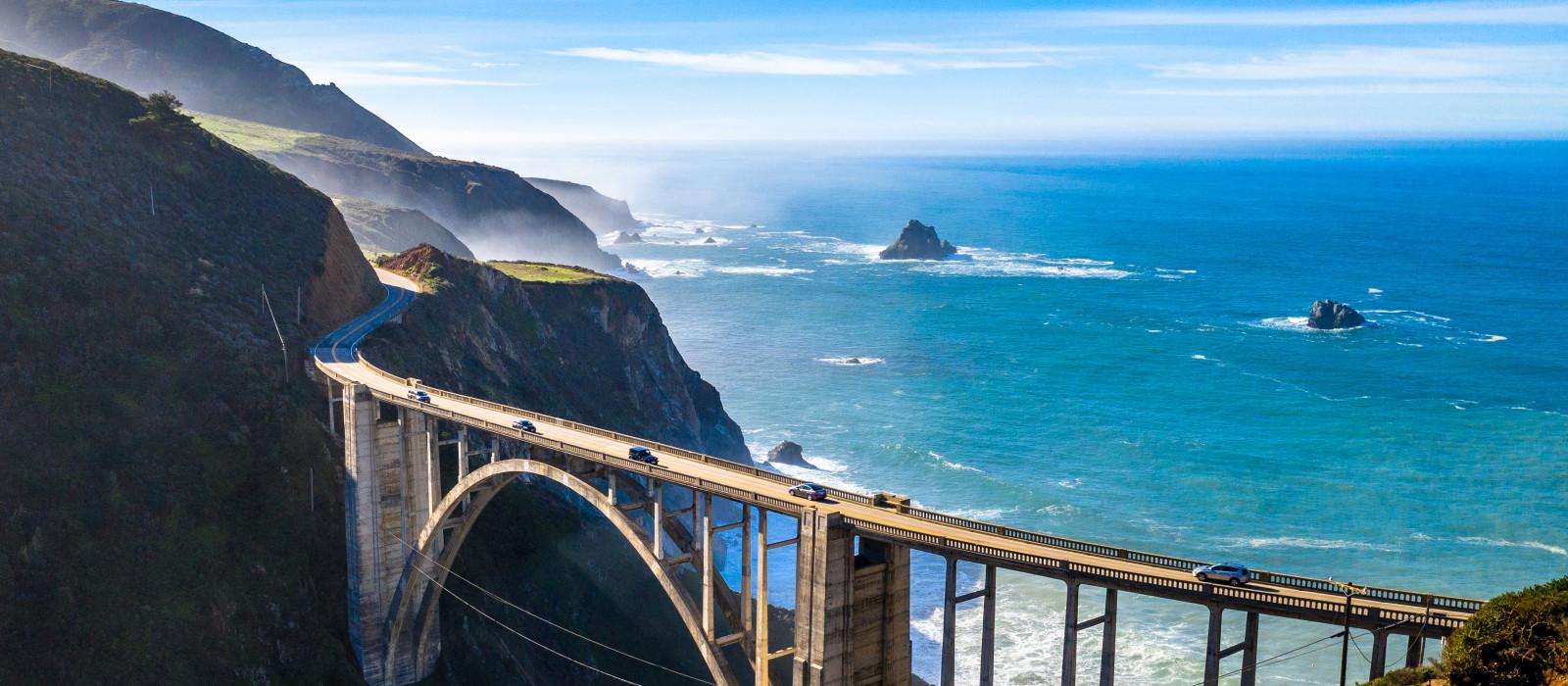 Reiseziel Big Sur USA