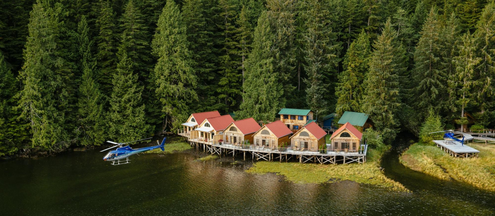 Hotel Nimmo Bay Resort Kanada