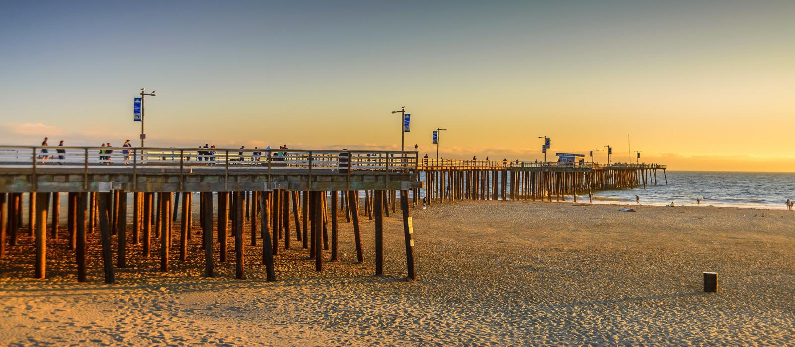 Destination Pismo Beach USA