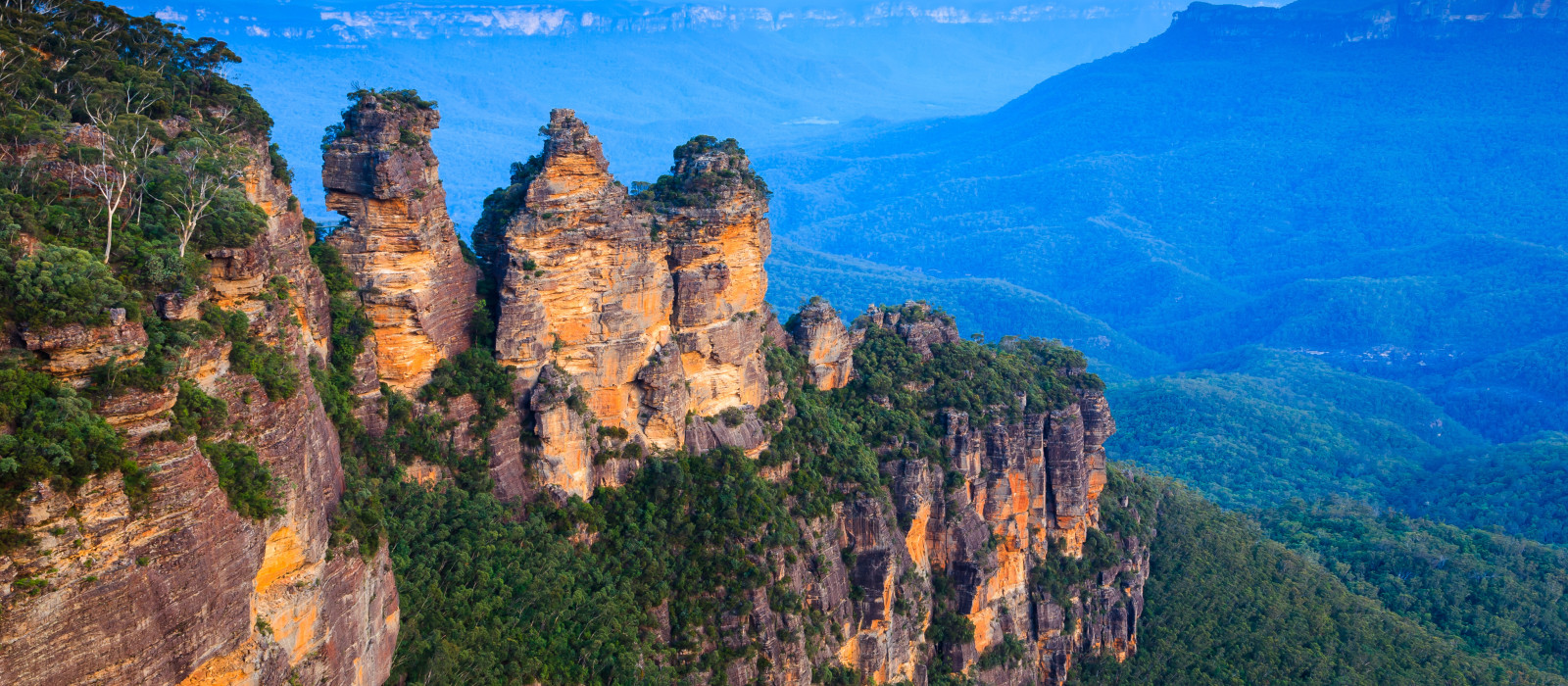 Reiseziel Blue Mountains Australien