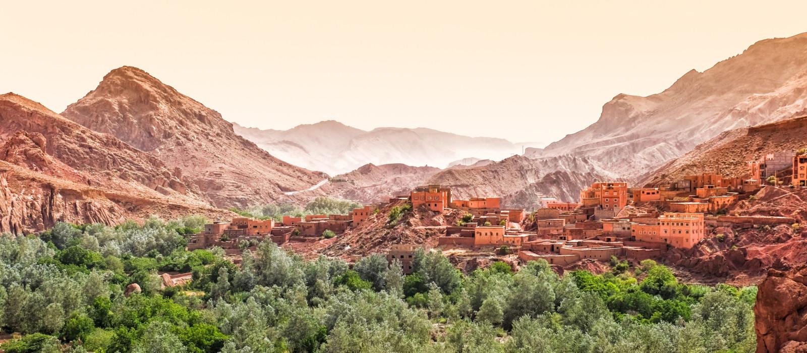 Hotel Kasbah Bab Ourika Marokko