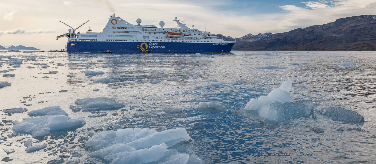 Hotel Ocean Diamond by Quark Expeditions Antarctica