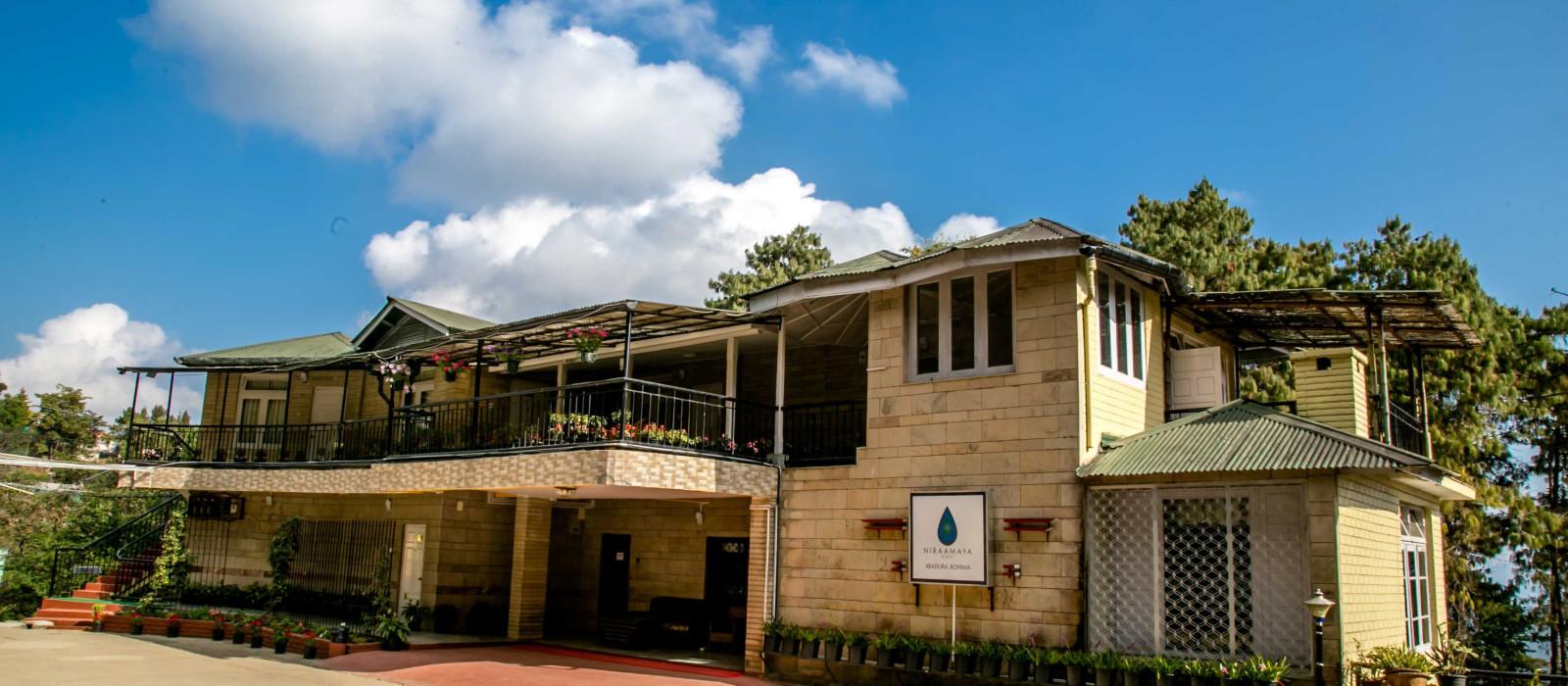 Hotel Niraamaya Retreats Aradura Ostindien